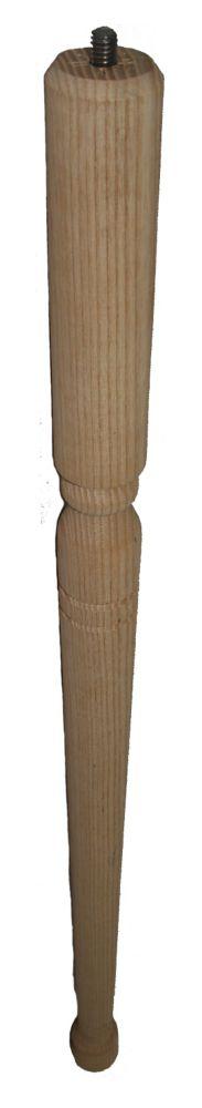 Hardwood Early American Leg 1-3/8 In. x 1-3/8 In. x 28 In.