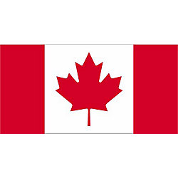 Flags Unlimited Drapeau du Canada 36 po x 72 po