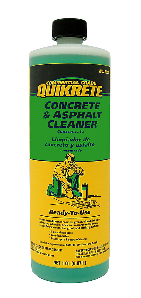 Quikrete Concrete And Asphalt Cleaner 946ml The Home