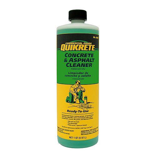 Quikrete Nettoyant pour béton et asphalte 946ml