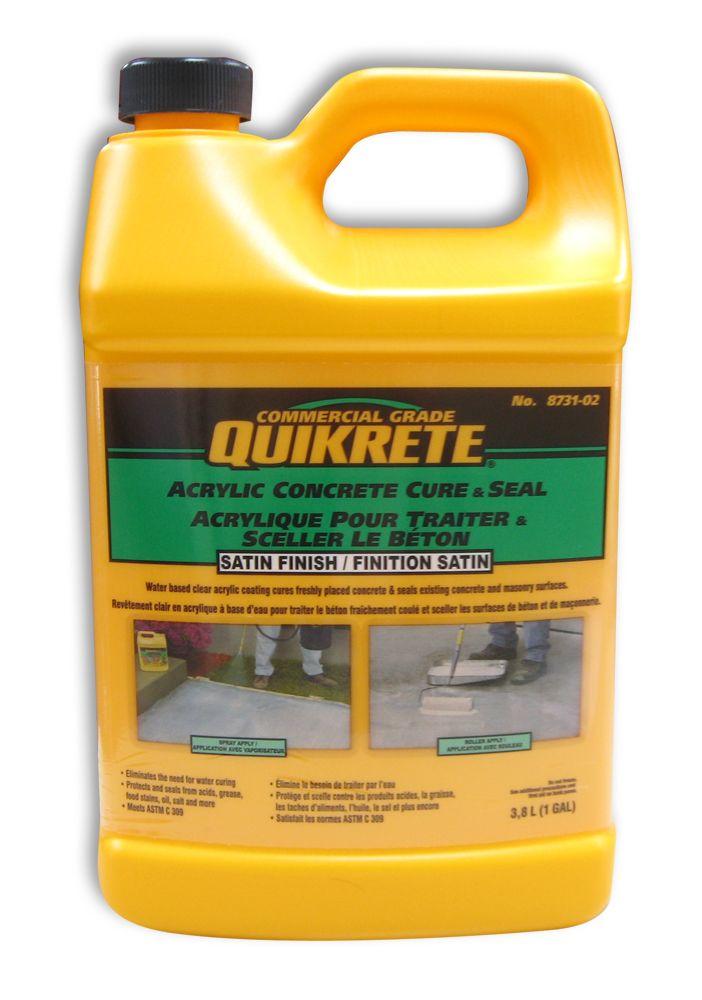Home Depot Acrylic Cement : Quikrete acrylic concrete sealer l the home depot canada