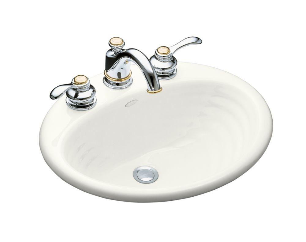Ellington Self-Rimming Bathroom Sink in White