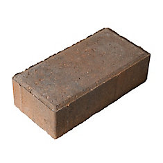 8-inch x 4-inch Holland Paver in Autumn Brown