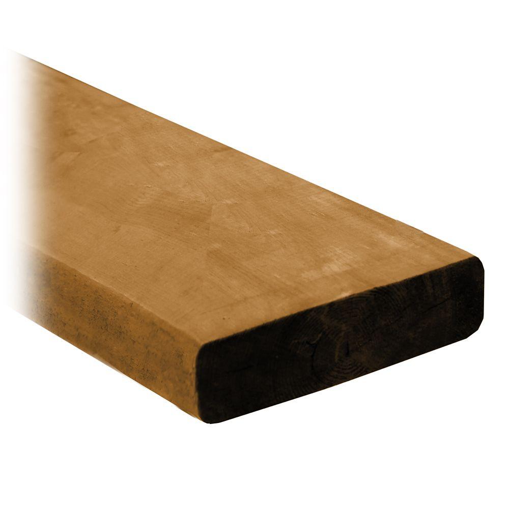 Cedartone Classic PT Lumber 2 in x 6 in x 16 Feet
