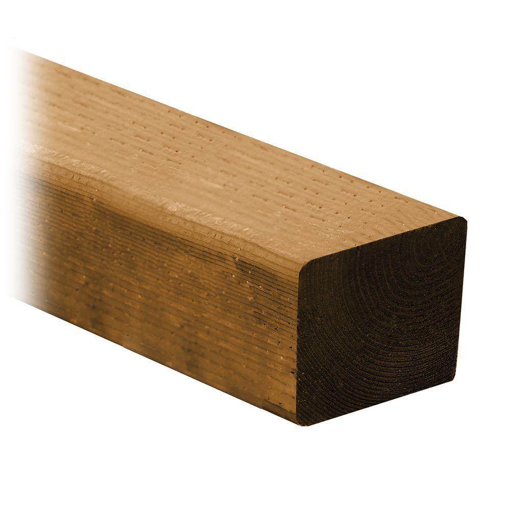 Cedartone Classic PT Lumber 4 in x 4 in x 9 Feet