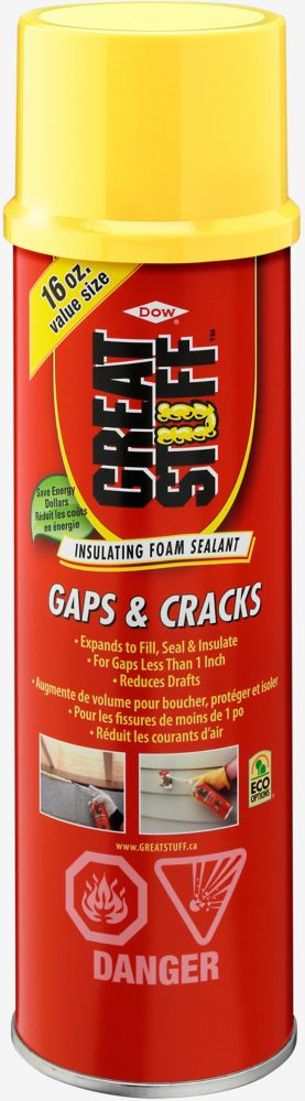 Gaps & Cracks Insulating Foam Sealant, 454 g