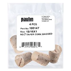 Paulin 13/16X1 #7 Tapered Cork 4pc.