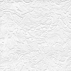 Swirl Paintable White Wallpaper