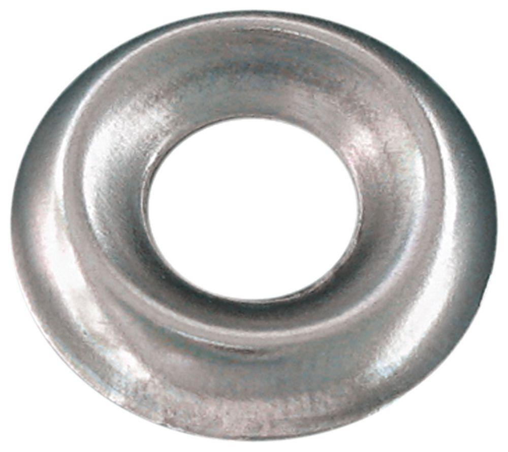 #6 Ctsk Finish Washer Steel Nickel