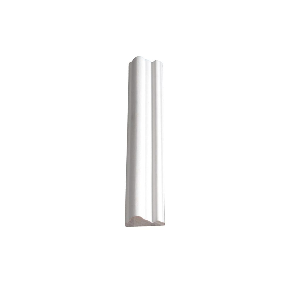 Primed Finger Jointed Pine Panel Moulding 3/8 In. x 1-1/8 In. (Price per linear foot)