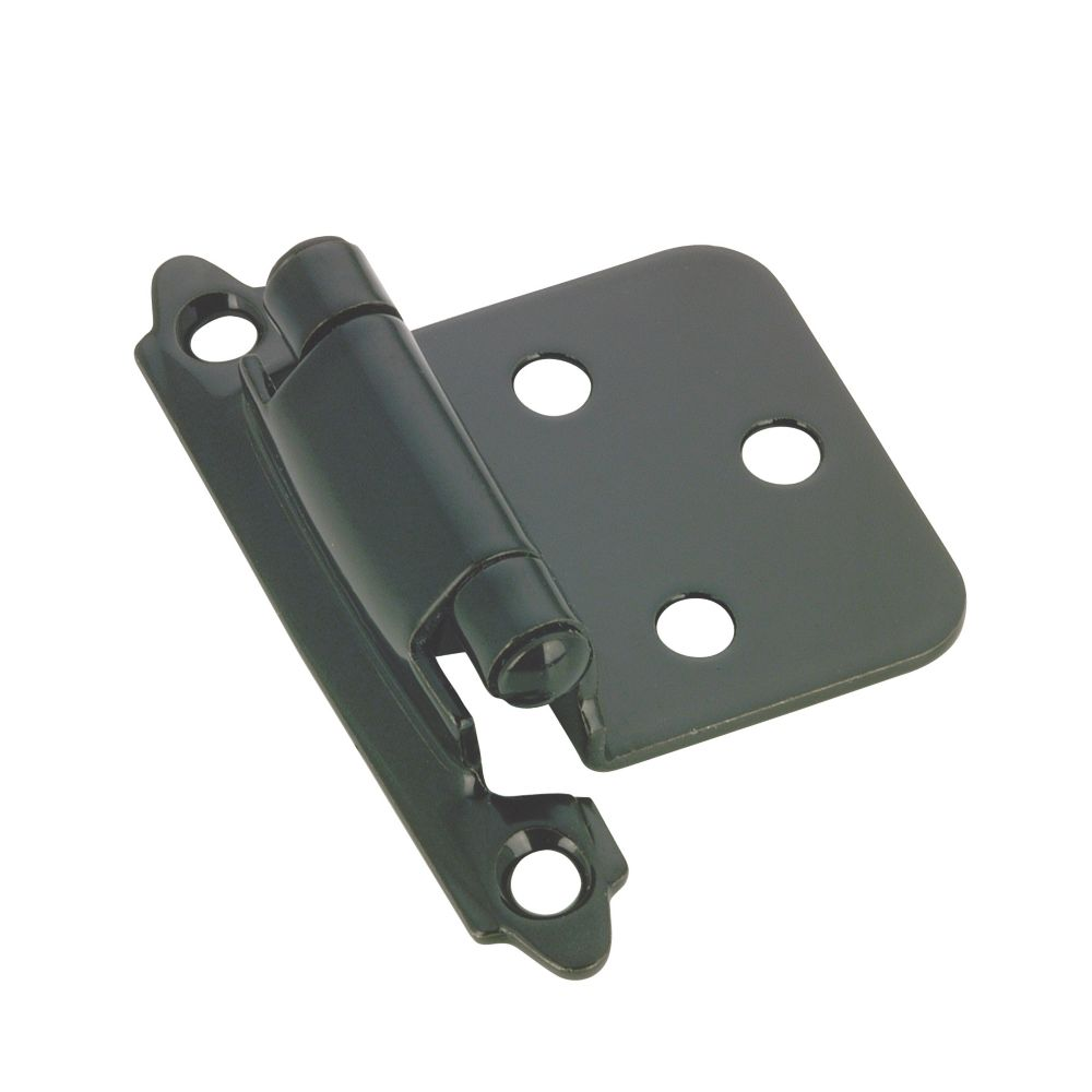 Self closing hinge - black