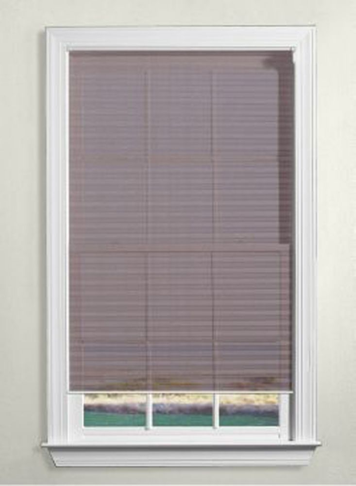Levolor Wood Blinds 1 Inch The Home Depot Canada