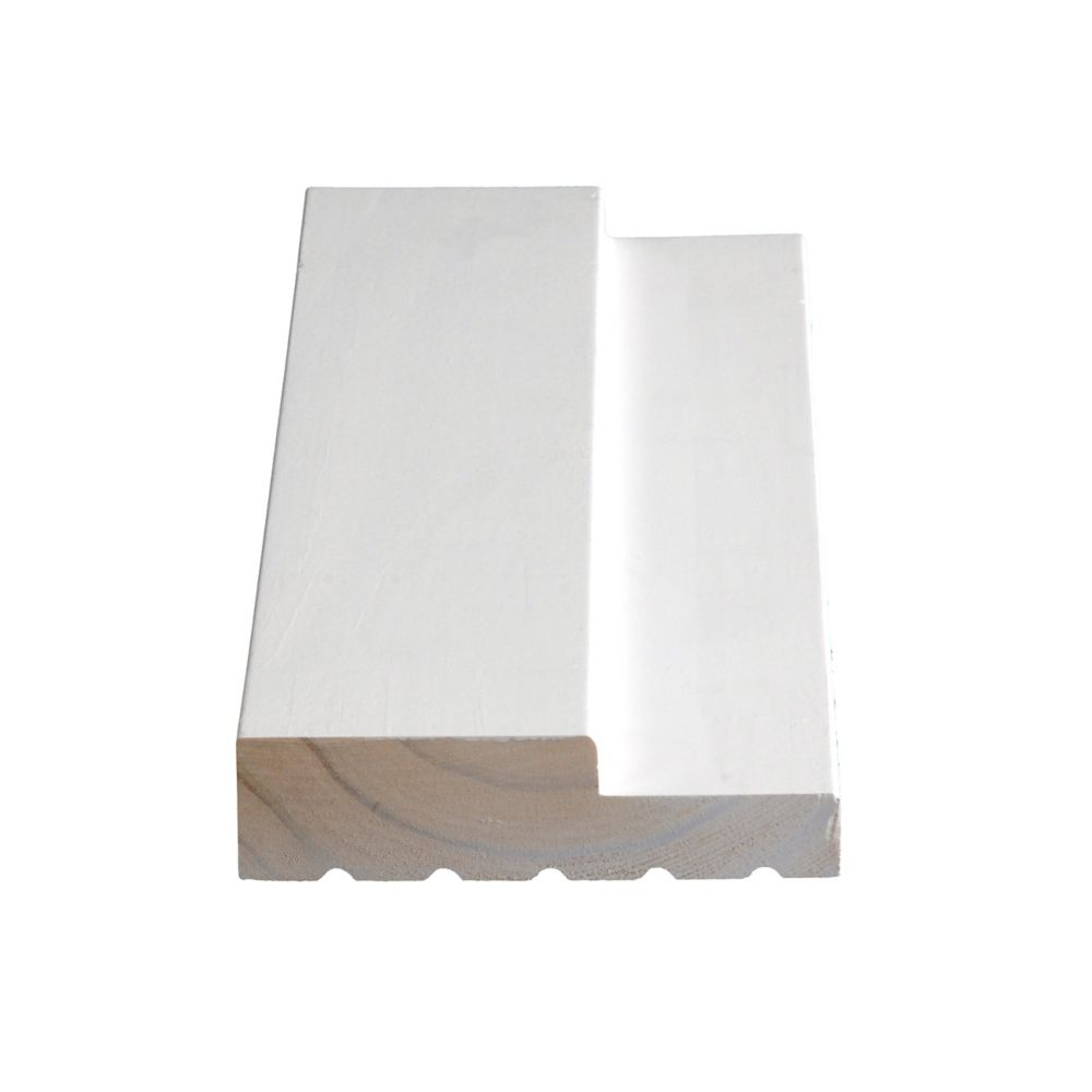 Primed Finger Jointed Pine Int Jamb 1-1/4 In. x 4-9/16 In. (Price per linear foot)