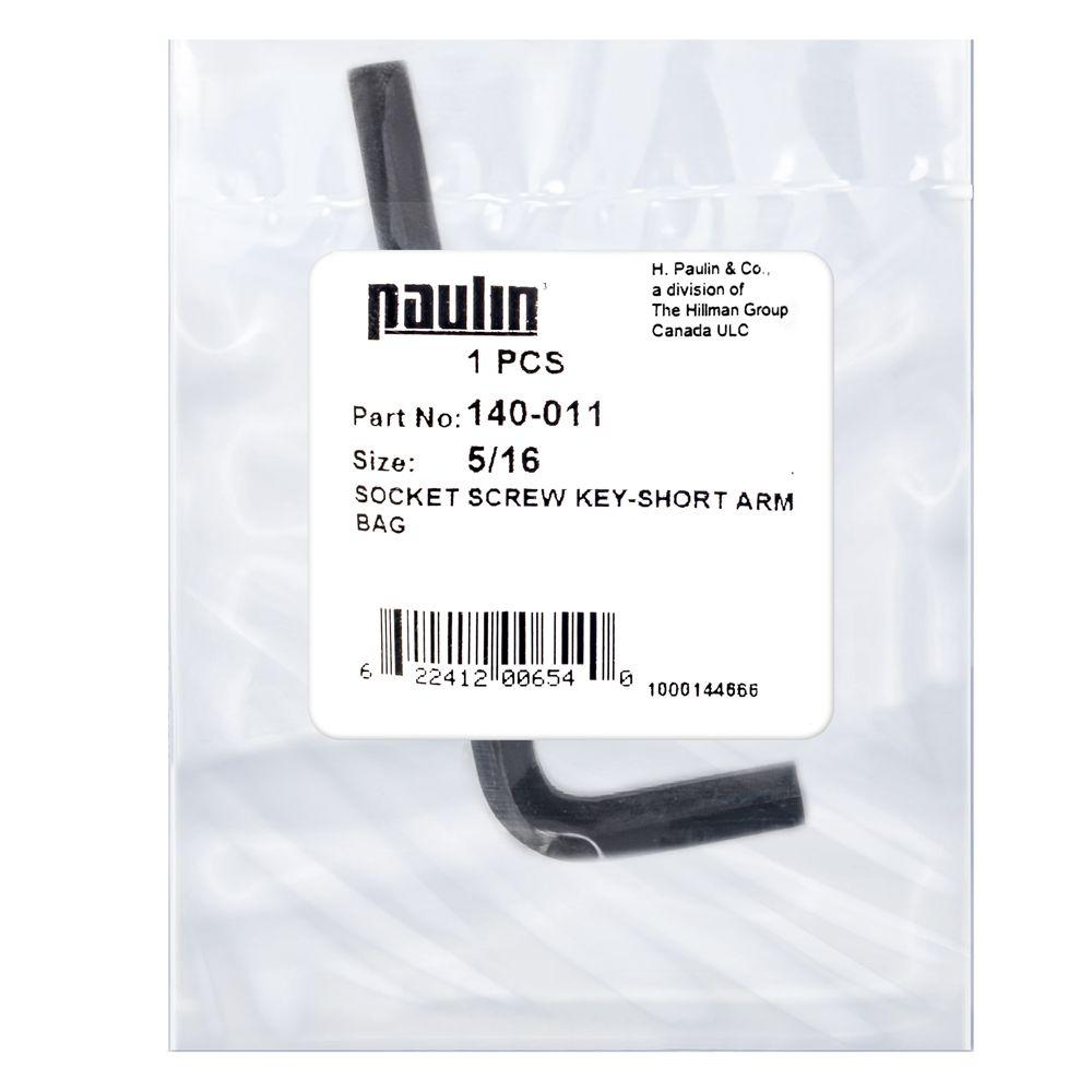 Papc 5/16 Short Arm Socket Key