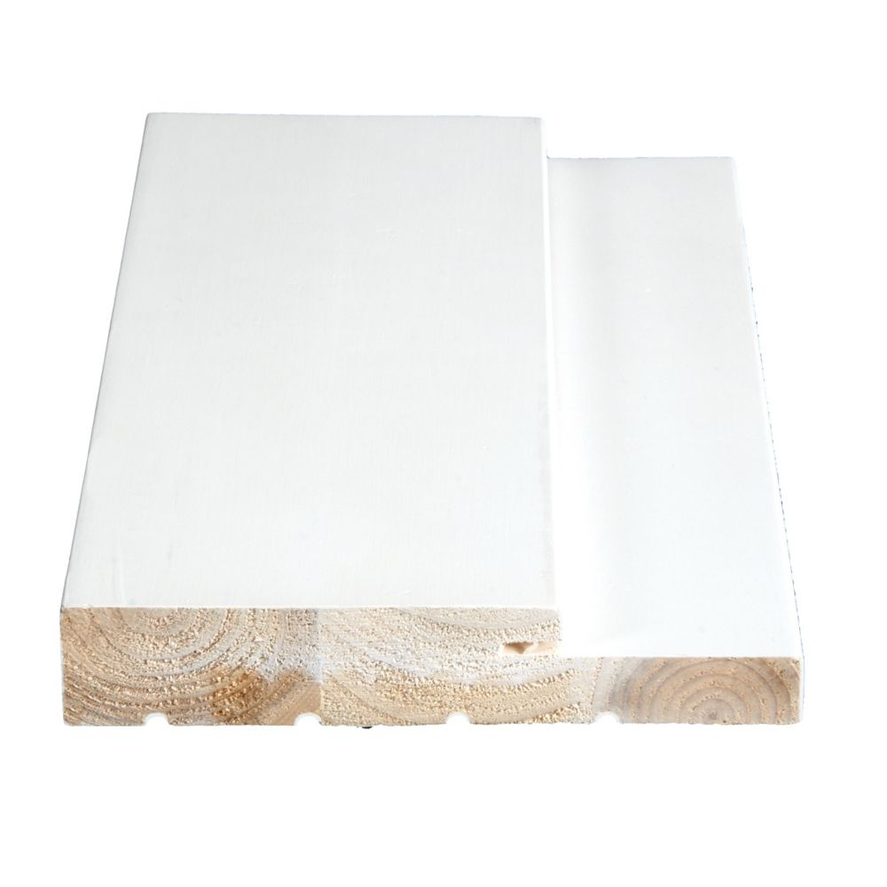 Primed Finger Jointed Pine Ext. Frame 1-1/4 In. x 6-9/16 In. (Price per linear foot)