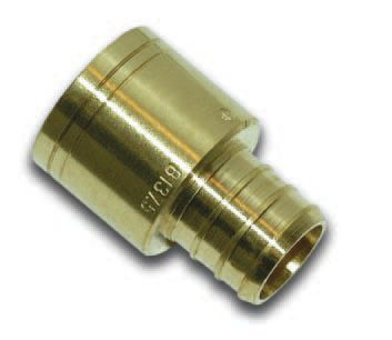 3/4 Inch Female Sweat X 3/4 Inch Barb Adapter Coupling
