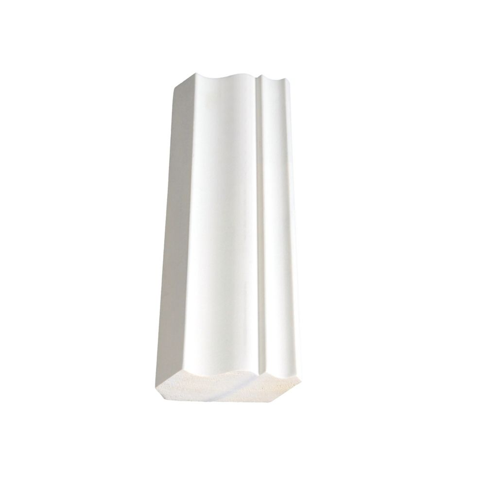 Primed Finger Jointed Pine Crown 9/16 In. x 2-1/4 In. (Price per linear foot)