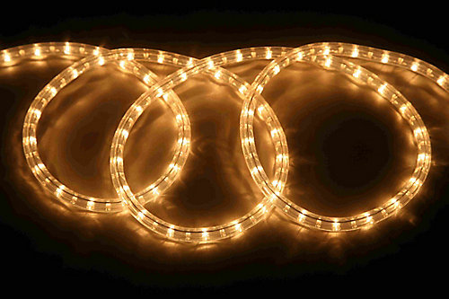 Hampton bay clear rope light 18 ft the home depot canada clear rope light 18 ft mozeypictures Images