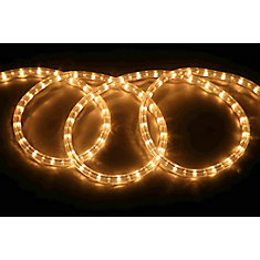 Hampton bay clear rope light 18 ft the home depot canada clear rope light aloadofball Gallery
