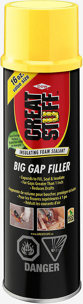 GREAT STUFF Big Gap Filler Insulating Foam Sealant, 454 g