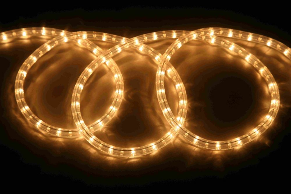 48FT Rope Light Kit - Clear