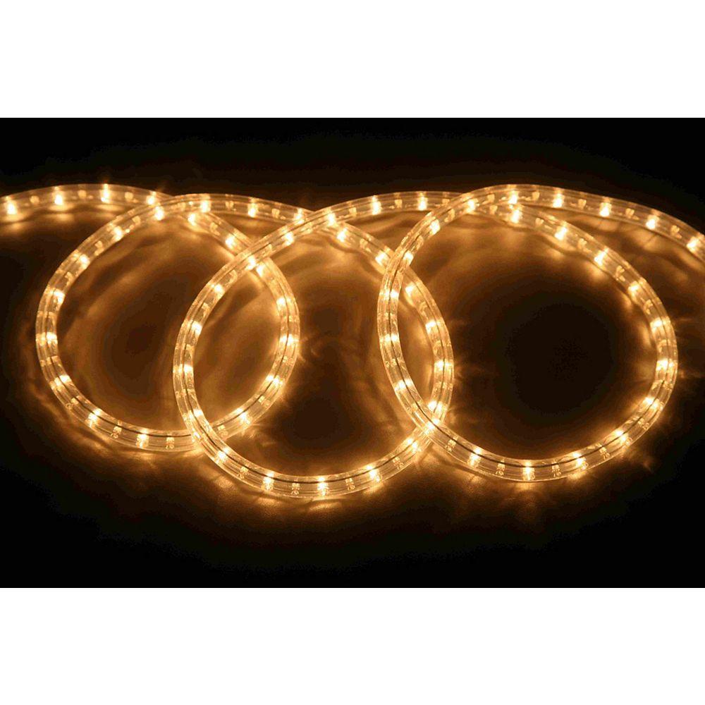 Hampton Bay 48FT Rope Light Kit - Clear