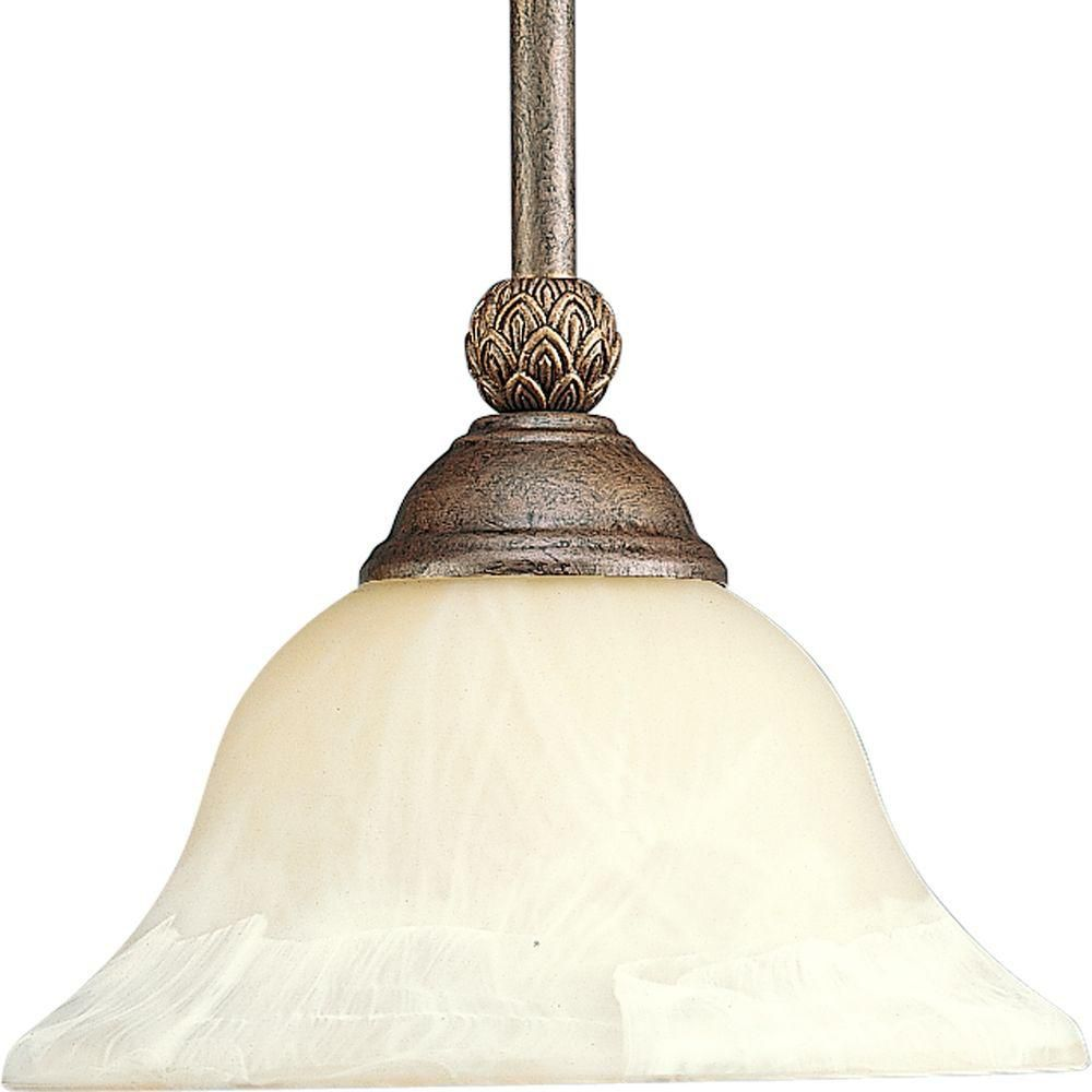 Savannah Collection Burnished Chestnut 1-light Mini-Pendant