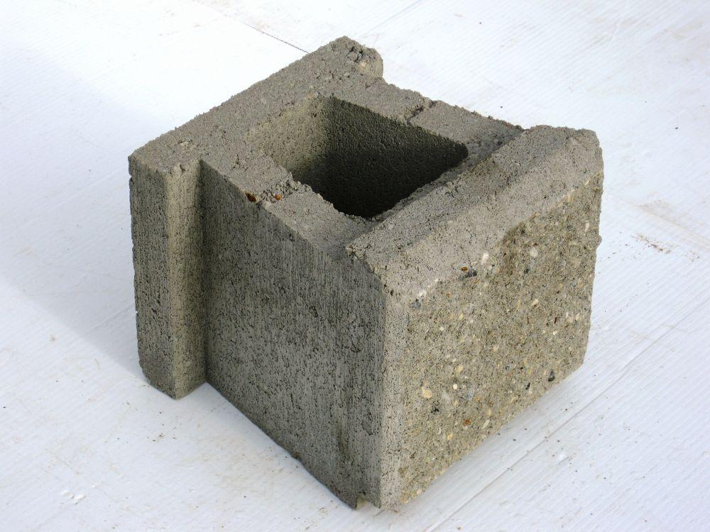 Allan Block (Ab) Jumbo Wall Block Gray