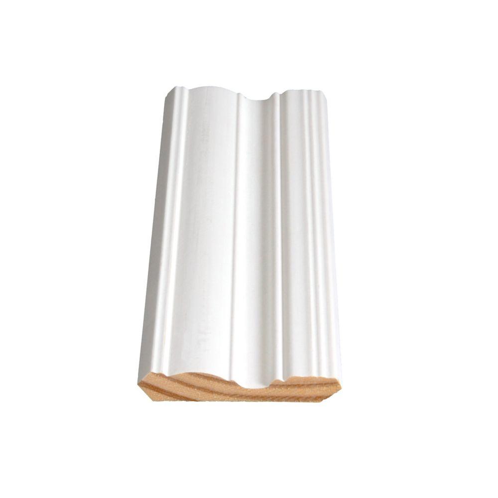 Primed Finger Jointed Pine Crown 9/16 In. x 3-1/4 In. (Price per linear foot)