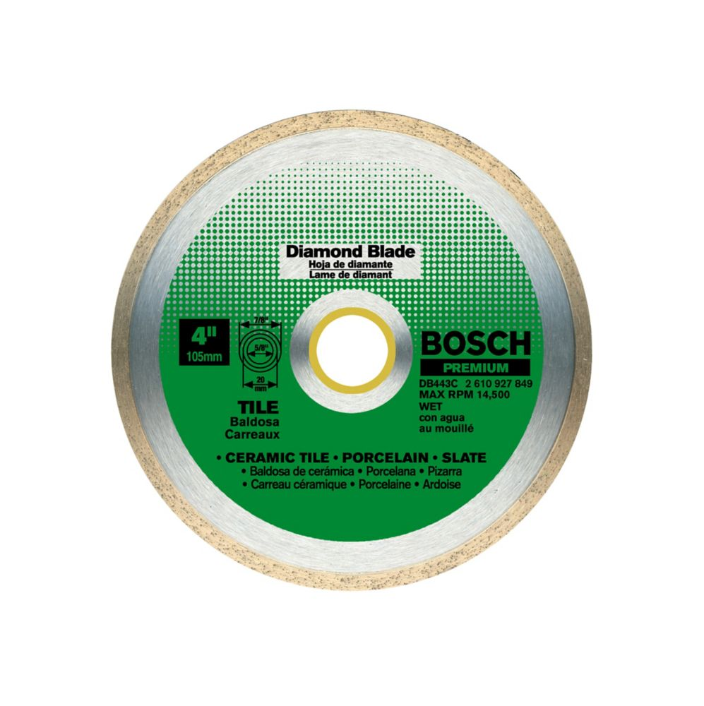 Bosch Bosch 4 In. Continuous Diamond Blade