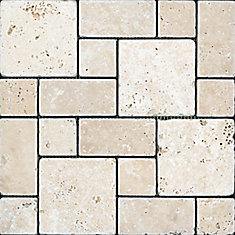 Chiaro Tuscan Pattern Tumbled Mosaic Tile