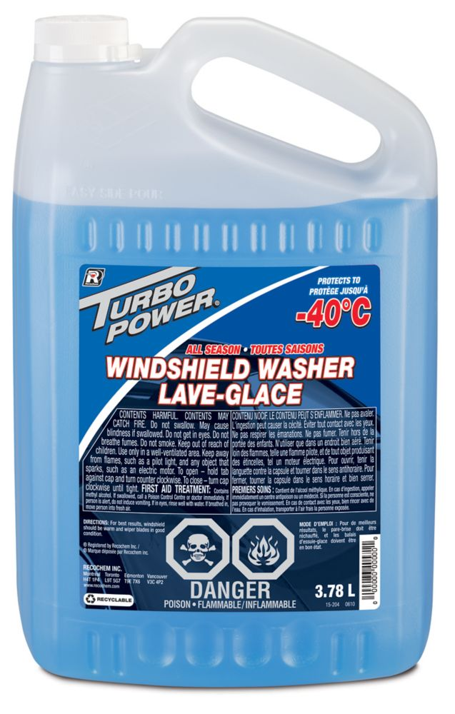 Turbo Power Windshield Washer - 3.78 L