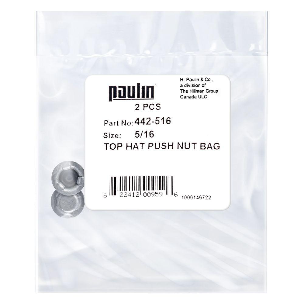 """5/16 ecrous """"push nut"""""""