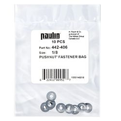 "Paulin 1/8 attaches ""pushnut"""