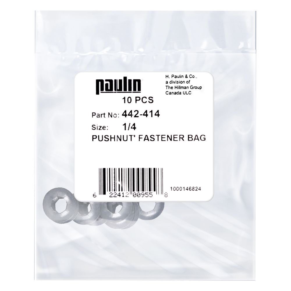1/4 Pushnut Fastener 10P 442-414 Canada Discount