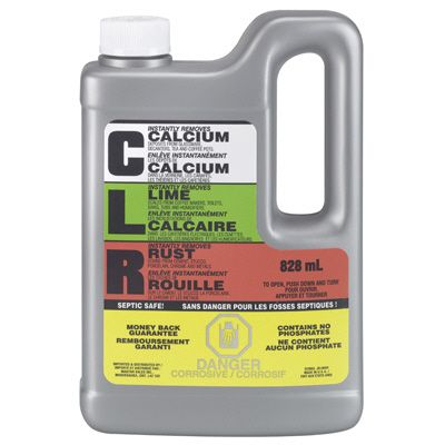 CLR Calcium, Lime & Rust Remover, 828 mL