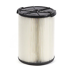 Standard Filter For 18.9 L (5 Gal.) & Larger Wet Dry Vacuums