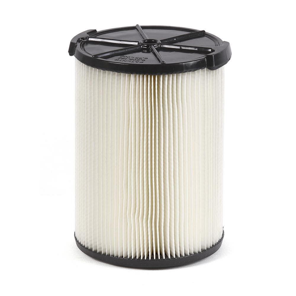 RIDGID Filtre standard pour les aspirateurs sec/humide 18,9 l (5 gal.) et plus grande