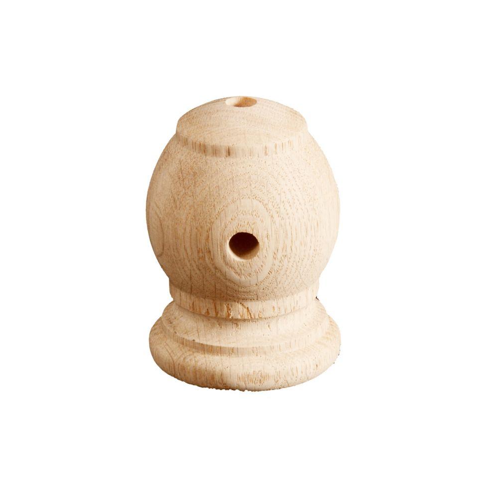 Trousse pour support de main courante en pin noueux