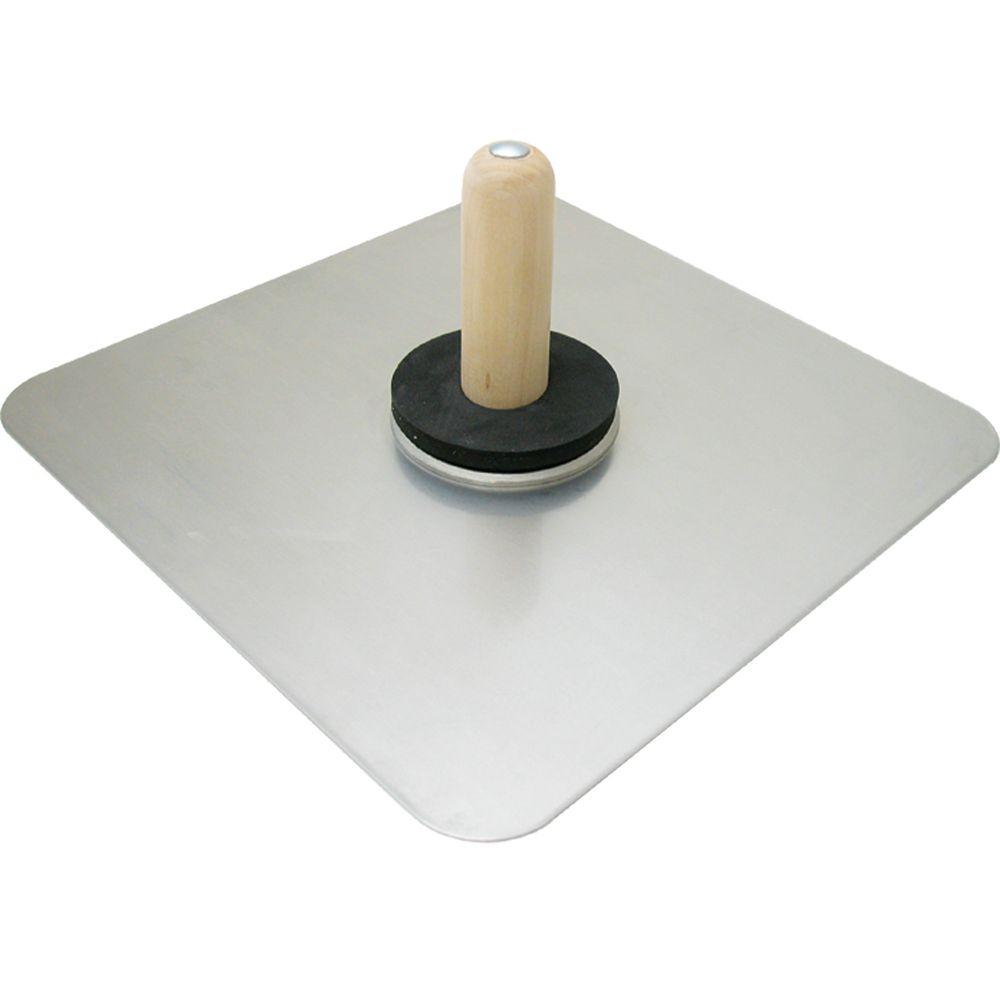 Bouclier en aluminium 13 po X 13 po (33 cm x 33 cm)