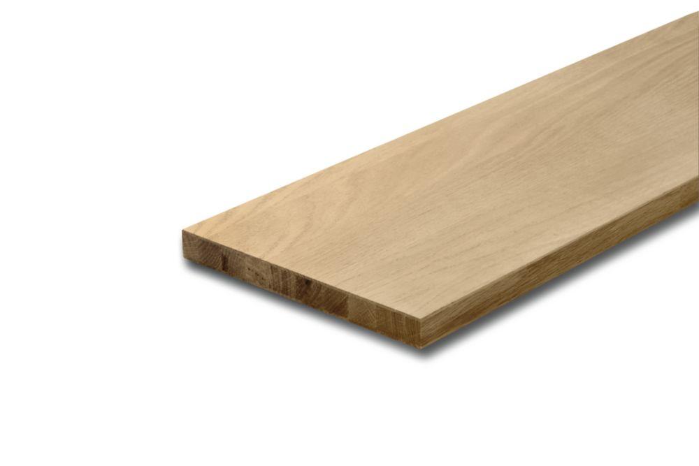 Oak Riser 3/4 In. x 7-1/2 In. x 42 In.