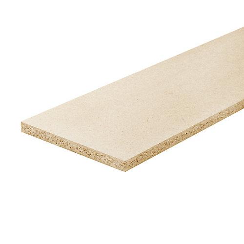 Presswood Riser 3/4 In. x 7-1/2 In. x 42 In.