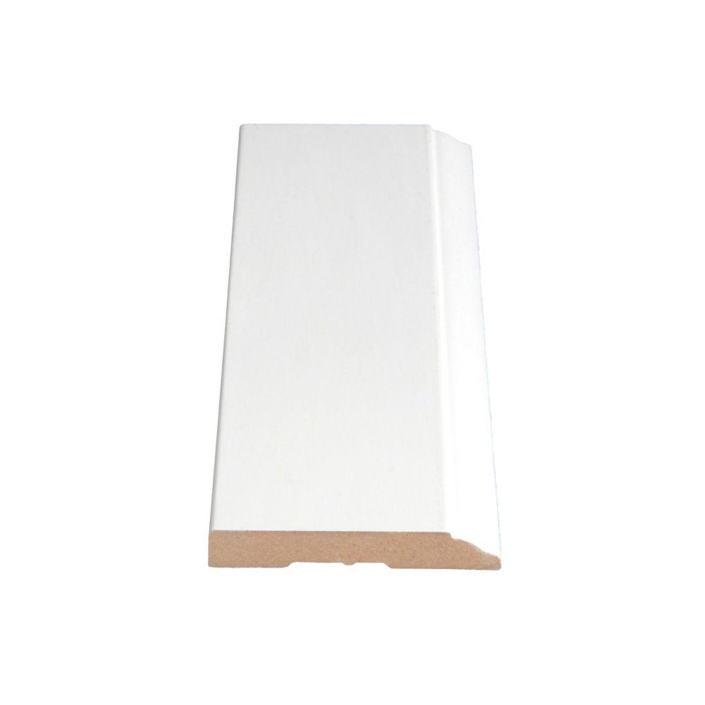 Primed Fibreboard Base 1/2 In. x 3-1/4 In. (Price per linear foot)