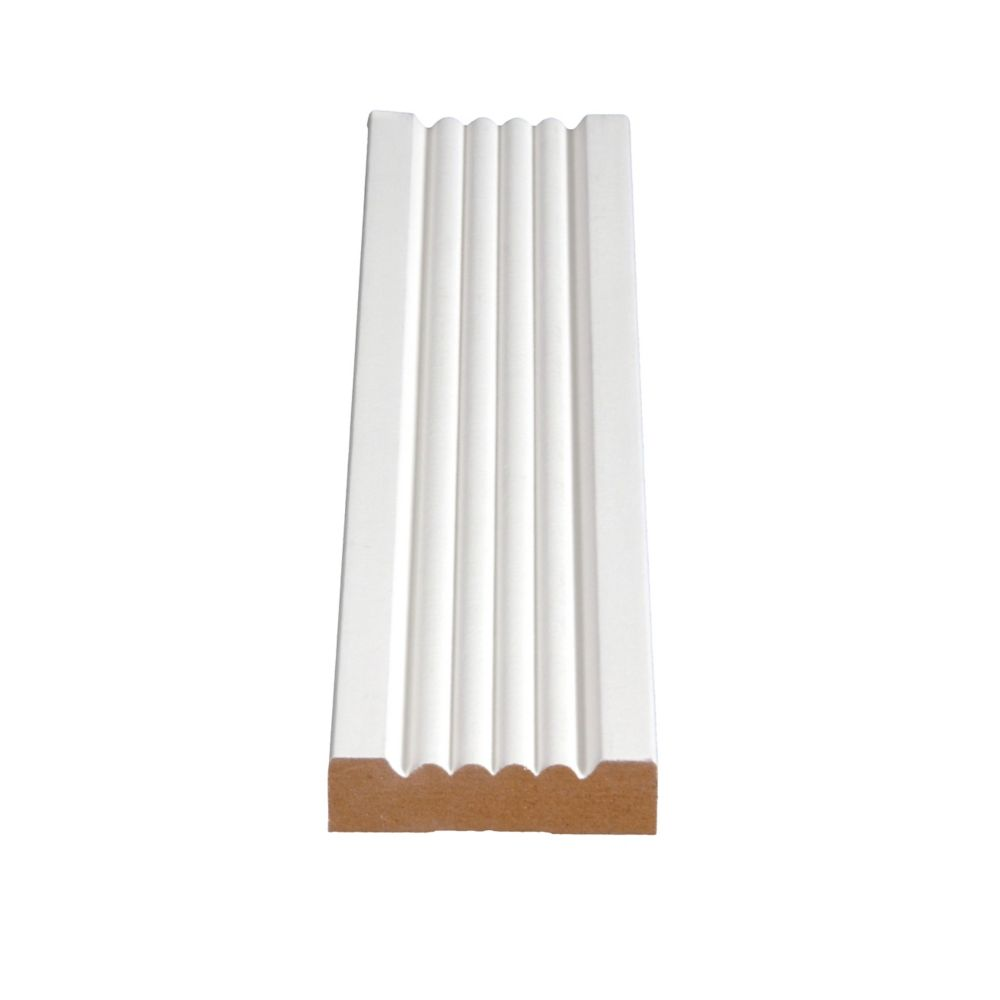 Primed Fibreboard Beaded Casing 5/8 In. x 2-1/4 In. (Price per linear foot)