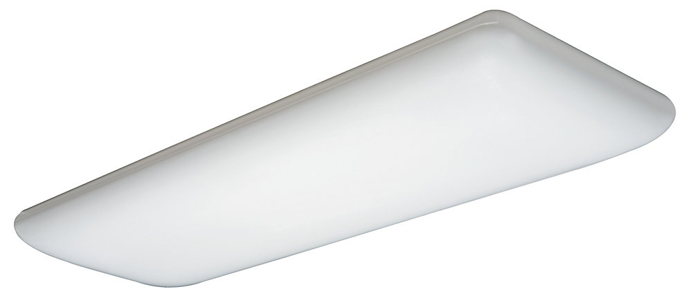 Puff 1.5 ft. x 4 ft. 4-Light Light Fixture