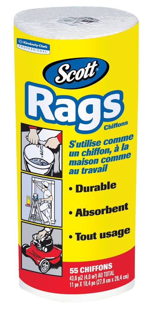 Chiffons d'atelier SCOTT<sup>®</sup> RAGS-ON-A-ROLL