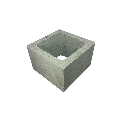 Basalite Concrete Products HALF BLOCK 20CM