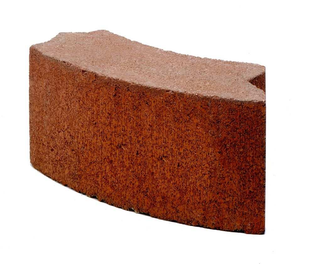 Cci Yardscapes 24-inch Red BBQ Block