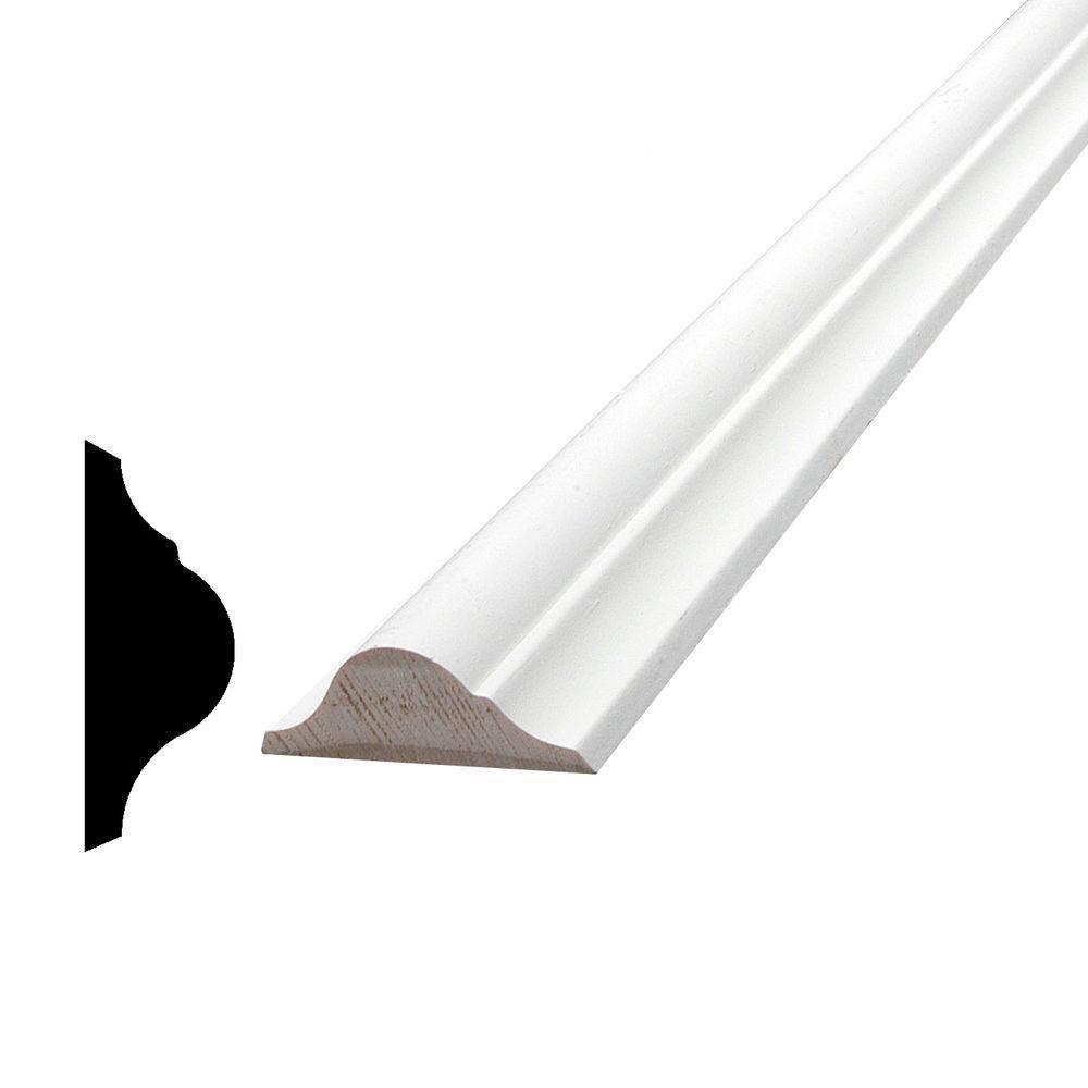 Moulure de panneau, apprêté et jointé, en pin - 9/16 x 1 9/16 (Prix par pied)