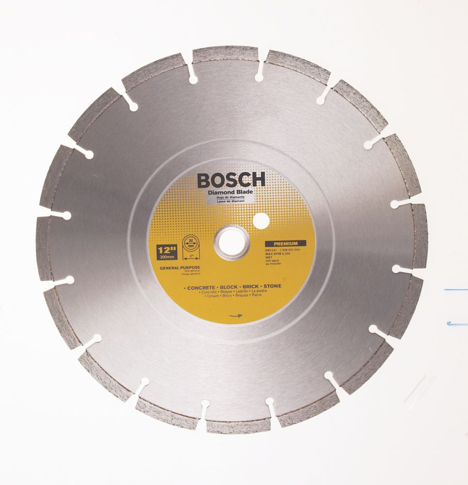 Bosch Bosch 12 In. Segmented Diamond Blade